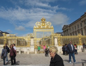 Golden Gate Entrance to Versailles Castle