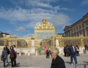 Golden Gate Entrance to Versailles Castle