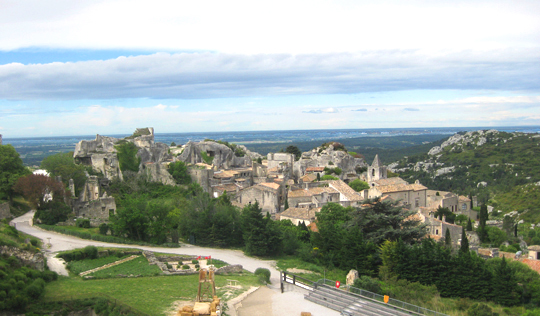 Les Baux Village today