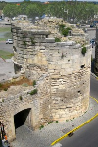 Left Tower from above