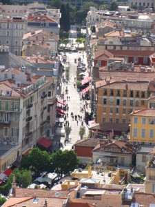 Market Place of Nice Cours Saleya