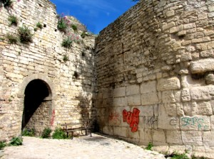 Ancient Roman Wall and Opening