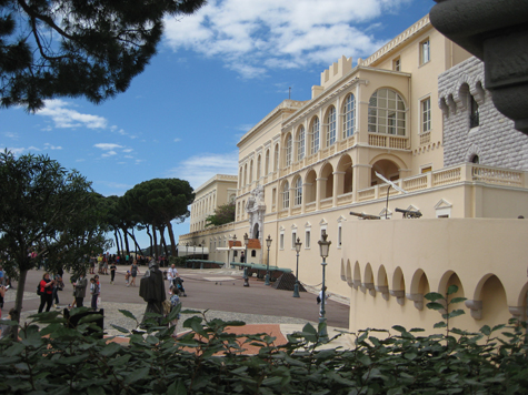 The Castle of Monaco