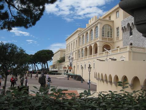 The Castle of Monaco