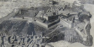 Drawing of Castle Hill