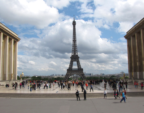 Eiffel Tower from Place du Tracadero