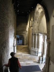 Entrance to Thermes du Culny