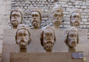 Defiled Kings Stone Heads