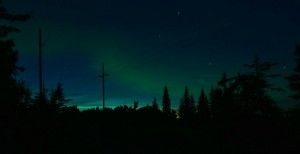 Aurora Borealis at the start