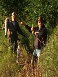 Cody & Brandon on the Kenai