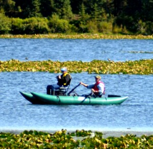 Jan & Jon on Johnson Lake