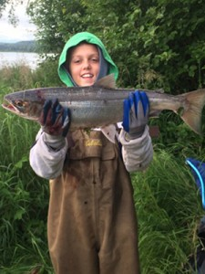 Kam's 1st Red Salmon