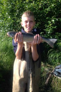 A big Dolly Varden Good eating