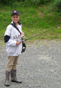Kameron the fisherman