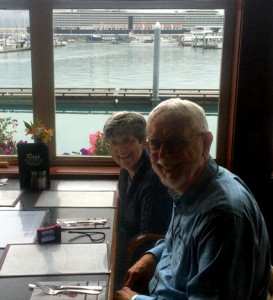 Dinner at Ray's with Piet & Dottie