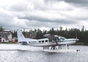 Talon 9 person float plane