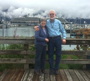 The Knetsch's at Seward Harbor