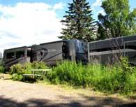 Long Camp Rig at a campsite